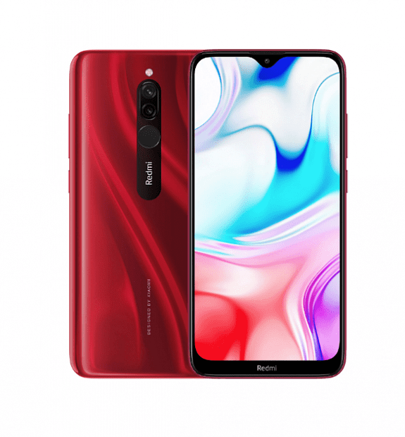 Смартфон Xiaomi Redmi 8 64GB/4GB (Red/Красный)